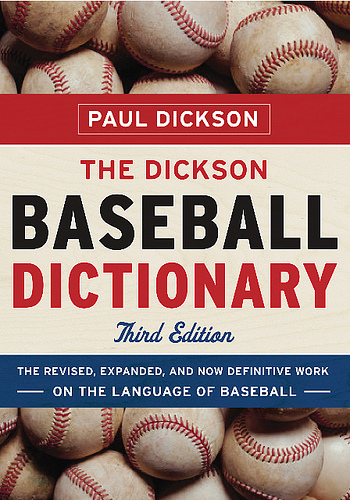 Baseball dictionary