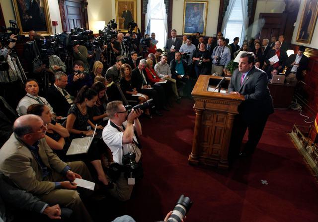 Christie Press Conference