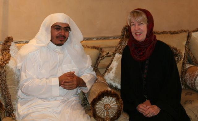 Interviewing Ahmed Bin Baz in Jeddah