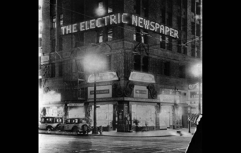 Electric Newspaper