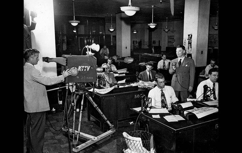 Times newsroom