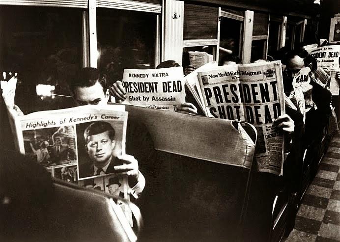 Kennedy Shot Dead