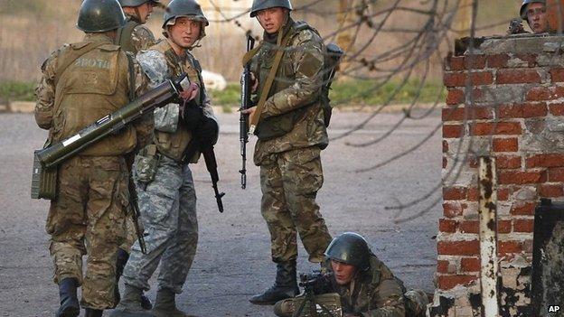 Ukraine civil war