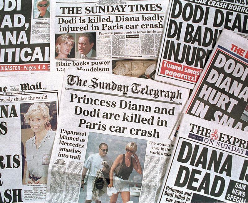 Diana headlines