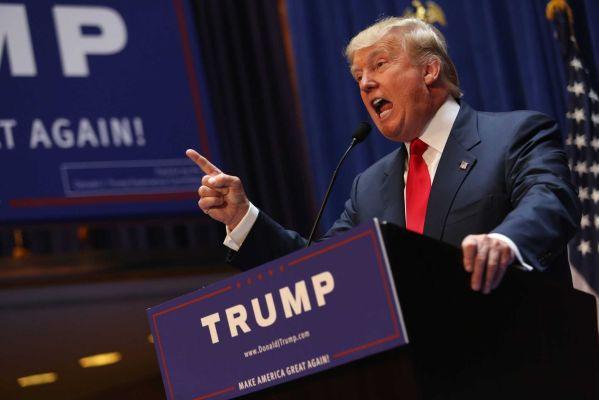 Trump announces