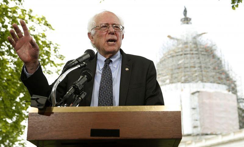 Sanders announces