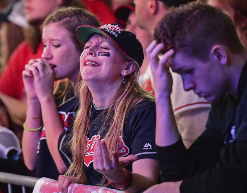 Despondent fans