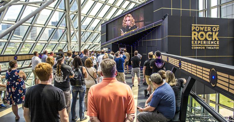 Madonna rock hall